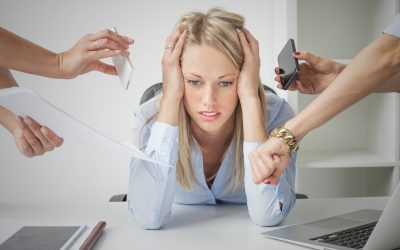 What causes work-related stress?
