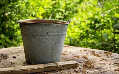 What does a bucket have to do with stress?